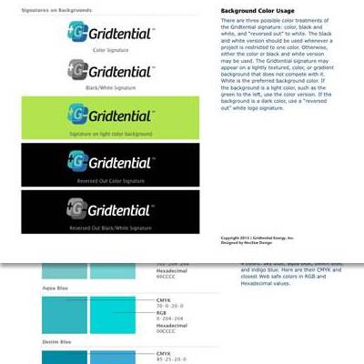 Feature Gridtential Branding Guideline