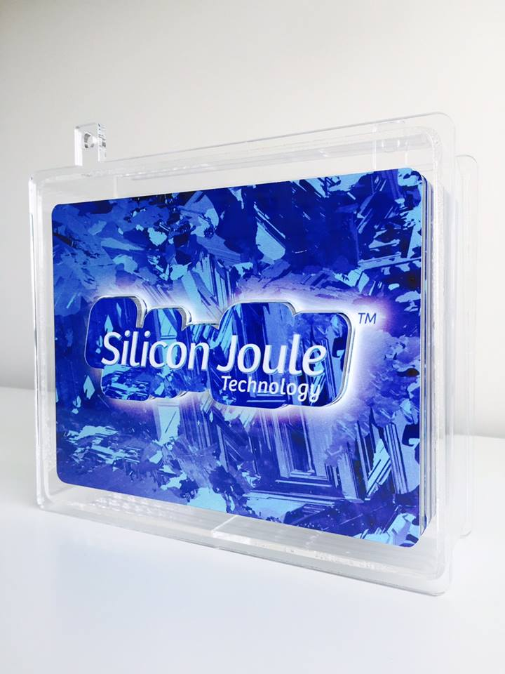 Silicon Joule Technology Demo Battery (Front View)